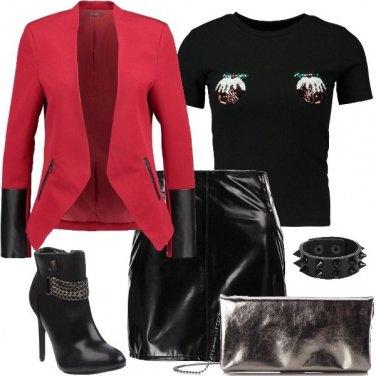 Outfit Feste in stile rock