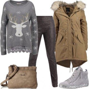Outfit Con la renna