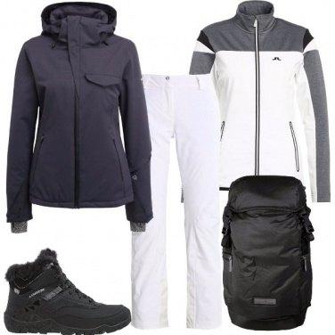 Outfit Tra snowboard e scii