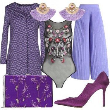 Outfit Elegante e colorata