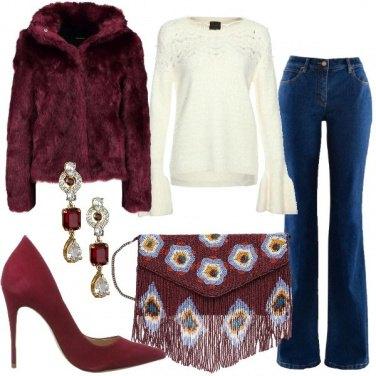 Outfit La pochette di perline