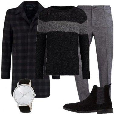 Outfit Il cappotto con gli scacchi