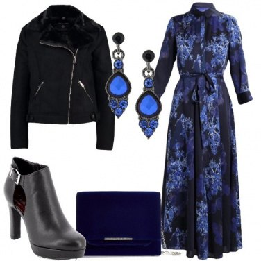 Outfit Stasera in blu
