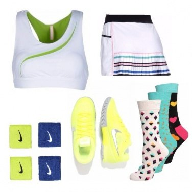 Outfit Tennis so chic