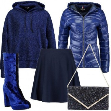 Outfit Mi piace il blu