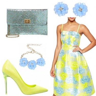 Outfit Bon ton fluo