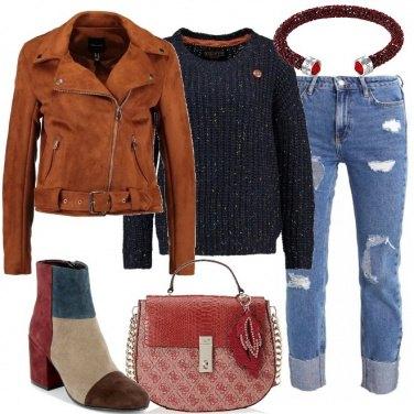 Outfit Stivaletti a più colori
