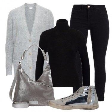 Outfit Silver e laminato