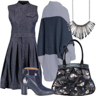 Outfit Denim di tendenza