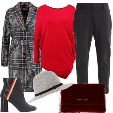 Outfit Quadri o righe