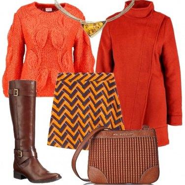 Outfit Arancione che mi riscalda