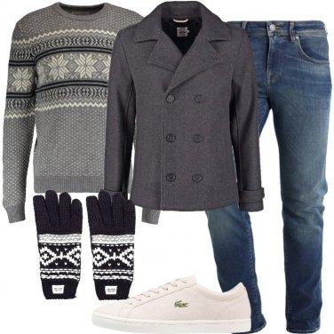 Outfit Il cappotto doppiopetto