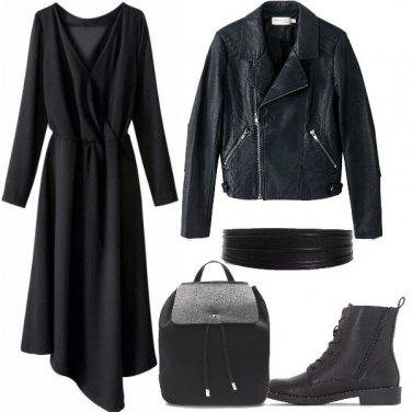 Outfit L\'abito con gli anfibi