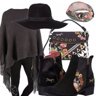 Outfit Leggings e cappello