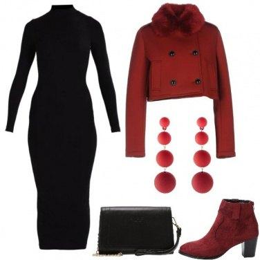 Outfit L\'abito lungo a tubino