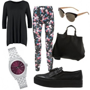Outfit Leggings e comfort