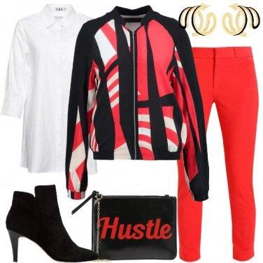 Outfit La giacca tricolore