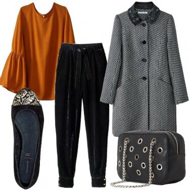 Outfit I pantaloni di velluto