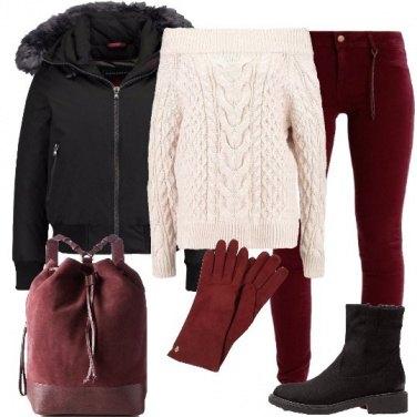 Outfit I guanti rossi