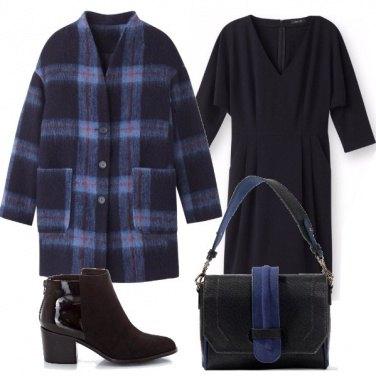 Outfit Il cappotto a quadretti