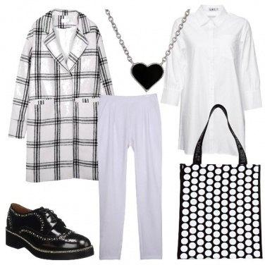 Outfit Quadri e cerchi