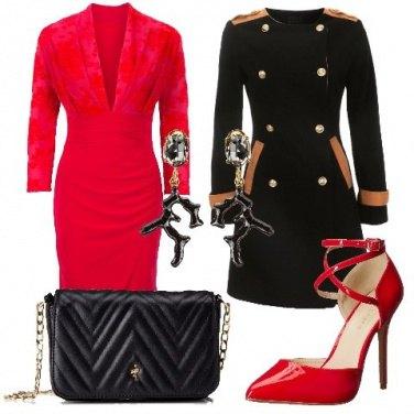 Outfit Un tubino rosso