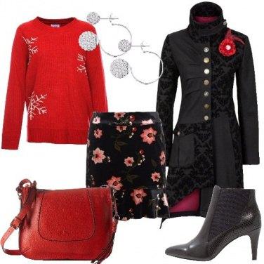Outfit Fiori e fiocchi di neve