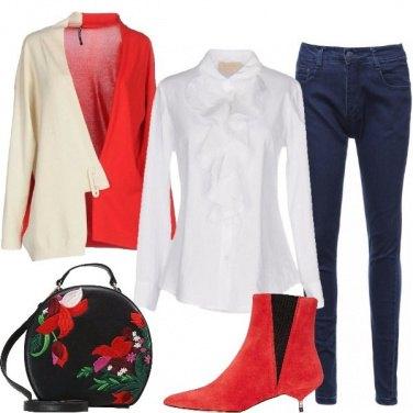 Outfit Non solo rosso