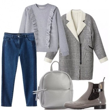 Outfit Cappotto caldo