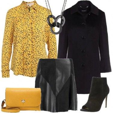 Outfit La camicia gialla