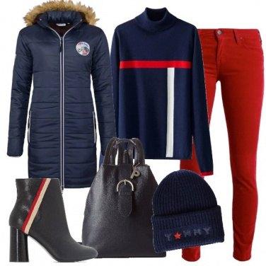 Outfit Dettaglio righe