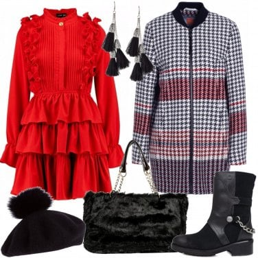 Outfit L\'abito rosso