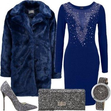 Outfit Blu brillante