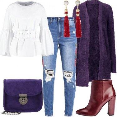 Outfit Accenni di Ultra Violet