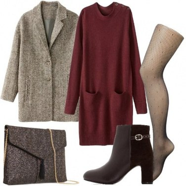 Outfit La pochette color bronzo