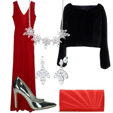 Outfit In lungo ed in rosso