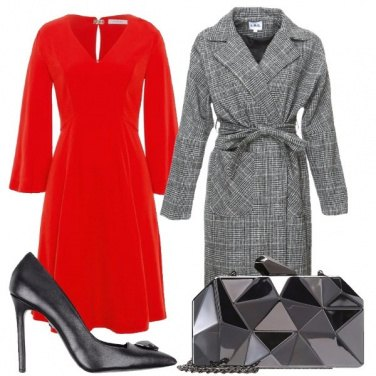 Outfit Feste in rosso