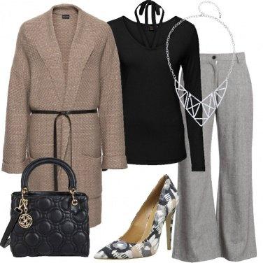 Outfit Il cappotto in maglia