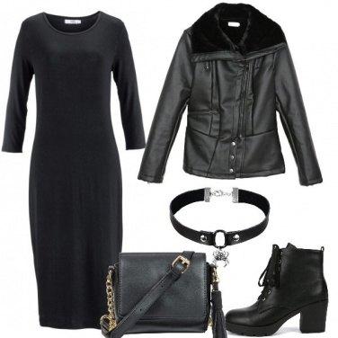 Outfit L\'abito nero