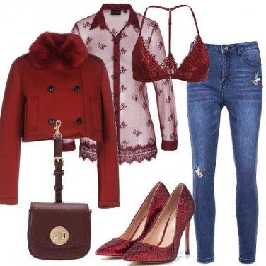 Outfit Sensualità rossa
