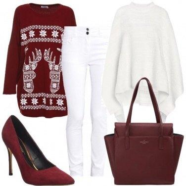 Outfit La felpa con le renne