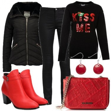 Outfit Baci per le feste