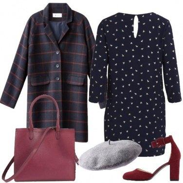 Outfit Il cappotto a quadri