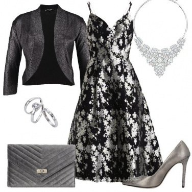 Outfit Splendido argento
