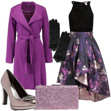 Outfit Serata in violet