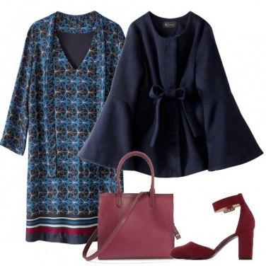 Outfit Il cappotto con maniche ampie