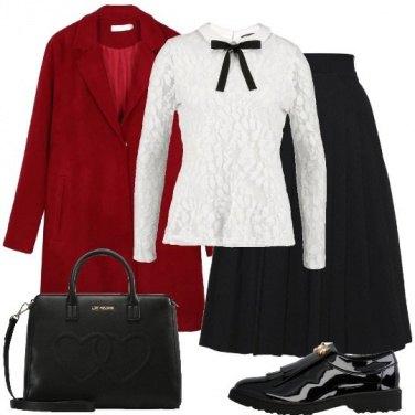 Outfit Il mocassino nero