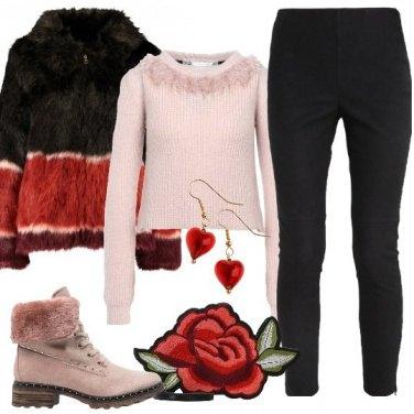 Outfit La borsa romantica