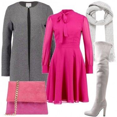 Outfit Il vestito col fiocco