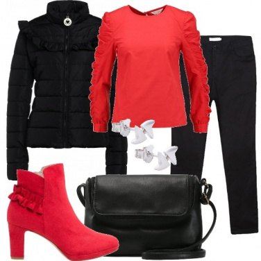 Outfit Rouches e volants